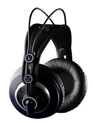 New studio headphones AKG K240 MKII
