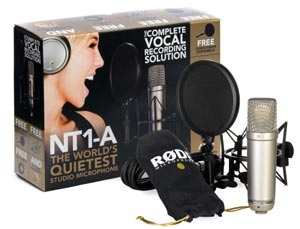 The new studio microphone RODE NT1-A