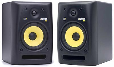 New studio monitors KRK RP6 G2