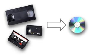 Digitization of video and audio recordings